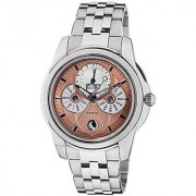 Citizen Eco-Drive Analog Brown Dial Mens Watch Bu0011-63Z