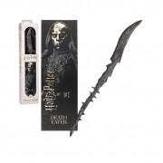 Bagheta Harry Potter - Death Eater 30cm Originala + Semn de carte