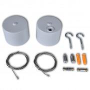 vidaXL Комплект кабели за флуоресцентна лампа
