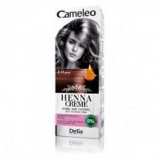 CAMELEO - Biljna kolor krema za kosu, na bazi prirodne kane (Hene) 4.0 - Smeđa 75g
