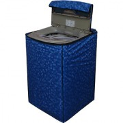 Dream Care Blue Colour with Square Design Washing Machine Cover for Fully Automatic Top Loading LG T7208TDDLP 6.2 KG