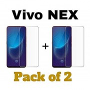 MB Star Screen Protection Tempered Glass For Vivo Nex Pack Of 2 (Transparent)