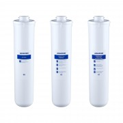Aquaphor Activated Carbon Water Filter - replacement filter set with water softener