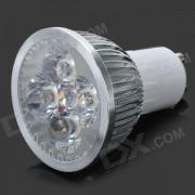 Lampara puntual de luz blanca con dimmer - plata + blanco