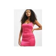 Missguided / jurk Petite Satin Slip in pink - Dames - Pink - Grootte: 38
