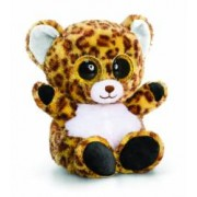 Jucarie de plus Keel Toys Animotsu Ochi Mari leopard 15 cm