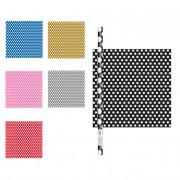 Partygram Papel de regalo de colores con topos de 1,52 x 0,76 m - Color Plateado