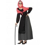 Vegaoo Kostüm einer alten Frau