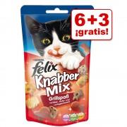 Felix Party Mix 9 x 60 g en oferta: 6 + 3 ¡gratis! - Mixed Grill