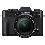 Fujifilm Systemkamera Fujifilm X-T20 XF 18-55 mm 24.3 Megapixel Svart 4K-video, Full HD Video, Elektronisk sökare, WiFi