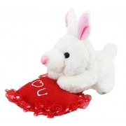 Tickles Tiny Rabbit with I Love You Heart Stuffed Soft Plush Toy for Kids 18 cm