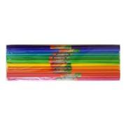 Krepp papír 50x200cm, 10db szín/csomag