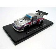 EBBRO 1/43 Porsche 911 RSR Turbo [Nurburgring] # 8 Silver(Japan Import)