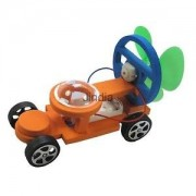 Alcoa Prime Wind Powered Racing Car DIY Assembly Model Kit sToy Kids Science Education