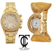 NEW BRAND SUPER FAST SELLING GOLD PAIDU GOLD ZULLA ANALOG WATCH FOR GIRLS BOYS.