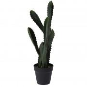 Geen Groene kunstplant vetplant Euphorbia 55 cm