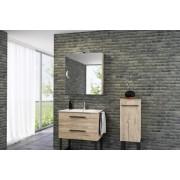 Milano 60 fürdőszobabútor alsó+mosdótál - több színben