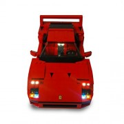 Ferrari F40 Lighting Kit for LEGO 10248 Set (LEGO Set NOT Included!) by Brick Loot