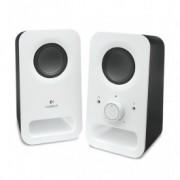 Logitech Z150 Multimedia Speakers, 2.0 System, White
