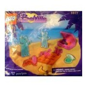 Lego Belville Bears on the Beach