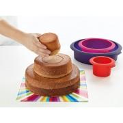 Lékué® 3 emeletes meglepi-torta készítő szett