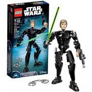 Lego Year 2016 Star Wars Series Figure Set #75110 - LUKE SKYWALKER with Blaster