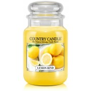 Country Candle Lemon Rind 2 Wick Large Jar 652 g