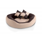 BedDog 4in1 Bed for a dog SABA L till XXXL , 7 colours to choose, warm basket cushion, pillow, sofa, basket for a dog