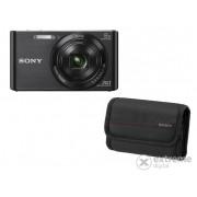 Aparat foto Sony DSC-W830, negru + 32GB SD + Carcasă Sony