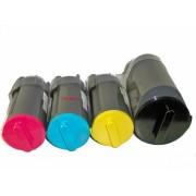 4x Toner Kartusche f. Samsung CLP 350 , CLP 350N , CLP 351 , CLP 351N kompatibel
