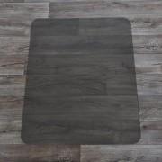 Bronzová podložka pod židli na hladké povrchy - délka 120 cm, šířka 90 cm a výška 0,15 cm