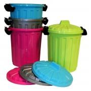 2Clean Afvalbak / Prullenbak 7 Liter Met Deksel (Prijs per stuk)
