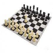 Crete Games Chess Set Black and White