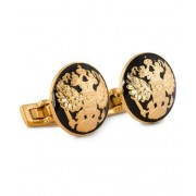 Skultuna Cuff Links The Double Eagle/Baroque