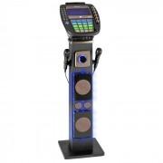 "KaraBig Impianto Karaoke Bluetooth LED 7"" TFT CD USB Altoparlante Integrato"