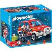 PLAYMOBIL Fire Chief and Car