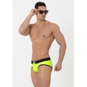 Eros Veneziani Contrast Bikini Swimwear Yellow/Black 7227