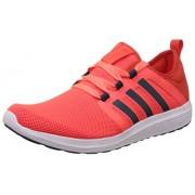 adidas Men's Fresh Bounce M Red, Blue and Orange Mesh Running Shoes - 9 UK
