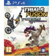 Trials Fusion The Awesome Max Edition, DLC пакетите включват : Riders of the Rustlands, Empire of the Sky, Welcome to the Abyss, Fire in the Deep, Fault One Zero, After the Incident, DLC Season 2, за PS4