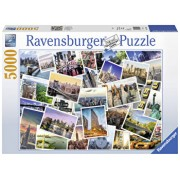 Puzzle New York City nu doarme, 5000 piese