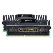 Corsair Vengeance Schwarz 16GB Kit (2x8GB) DDR3-1600 CL10 DIMM Arbeitsspeicher