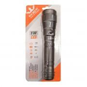 Torcia Led In Alluminio 1w Rexer 3aaa 1,5v 100 Lumen Illumina Fino A 80 M