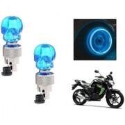 STAR SHINE BIKE BLUE SET OF 2 STYLISH TYRE LED For Hero MotoCorp SUPER SPLENDER O/M