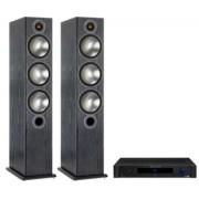 Pachete PROMO STEREO - Monitor Audio - Bronze 6 + Emotiva BasX TA-100 Black Oak
