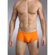 Baskit Action Cool All Mesh Sawed Off Brief Vermillion Orange Underwear M3300