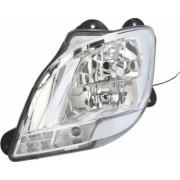 Far stanga H1/H7/LED/PY21W electric fara motoras fundal crom culoare Semnalizator transparent DAF CF XF dupa 2012