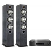 Pachete PROMO STEREO - Monitor Audio - Bronze 6 + Cambridge Audio CXA60 Black Oak