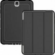 Husa Samsung Galaxy Tab S3 9.7 T820 T825 flip cover activa pliabila cu 3 straturi protective negru