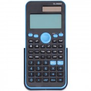 Calculadora de funcion cientifica multifuncional DL-D82ES moda - azul