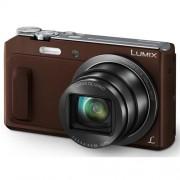 Fotoaparát Panasonic DMC-TZ57EP-T, 16 Mpx MOS, 20x zoom 24mm POIS, Full HD, WiFi, hnedý
